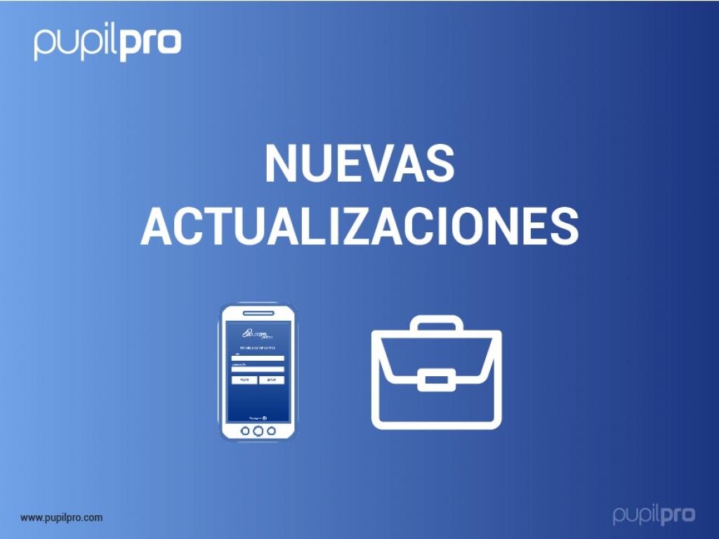 Nuevas actualizaciones que te interesan en Pupilpro