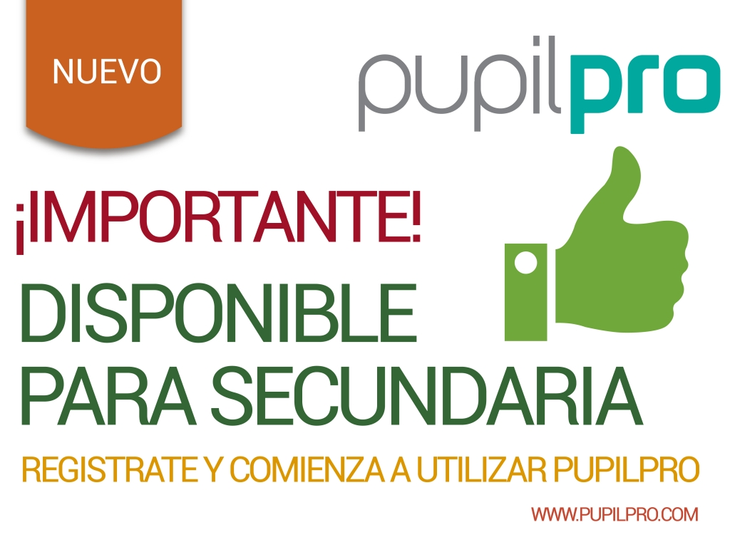 Curriculum de Secundaria disponible en Pupilpro