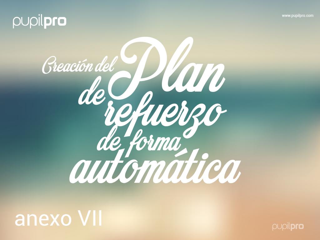 Disponible la generación automática del MODELO DE PLAN DE REFUERZO Y RECUPERACIÓN DE ÁREA.